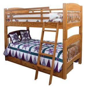 amish bunk beds amish chesapeake bunk bed solid hardwood usa made eco