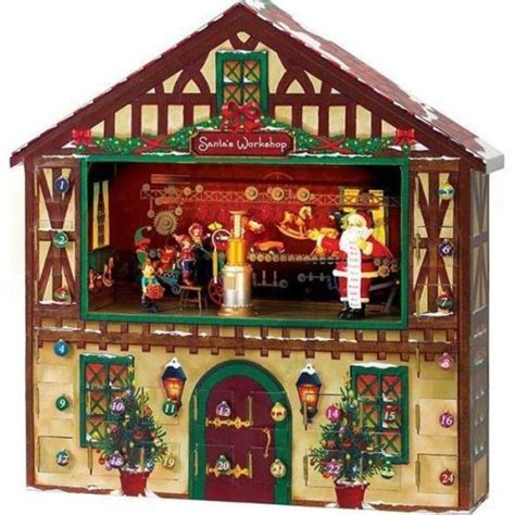 christmas house music bnib mr christmas animated advent calendar house music box 24 day co