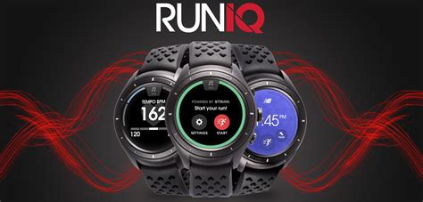 New Balance Runiq Android Wear 2 0 Smartwatch new balance announces the runiq android wear smartwatch at