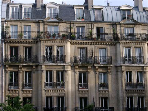 paris appartments free stock photo of facade of paris apartments