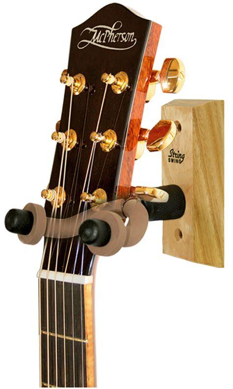 string swing installation hardwood home studio guitar hanger string swing