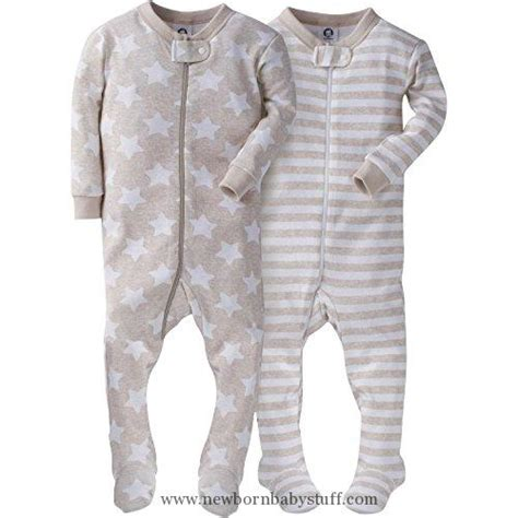 12 Month Sleepers by Baby Boy Clothes Gerber Baby Boys 2 Pack Footed Sleeper