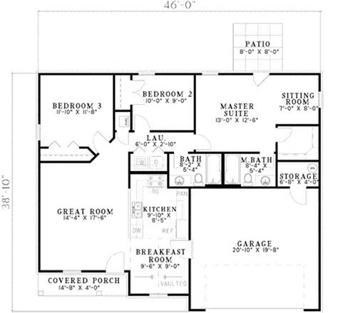 Basement Floor Plans 1000 Sq Ft House Plan 17 2128 This 1214 Square Feet Traditional