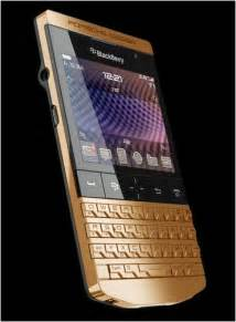 Blackberry Porsche P9981 Gold 8k To Spare Check Out This 24ct Gold Plated