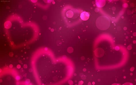themes love hart پس زمینه قلب های صورتی pink love shine
