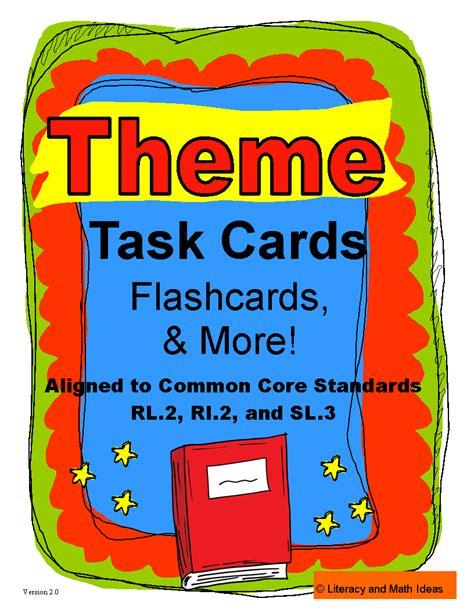themed math definition literacy math ideas task cards to teach students the