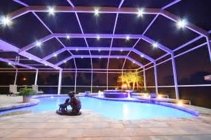 Pool Patio Lighting Nebula Lighting Systems Rail Light System