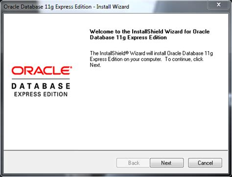 tutorial oracle 11g express edition pdf installing oracle database 11g xe and unlocking the hr