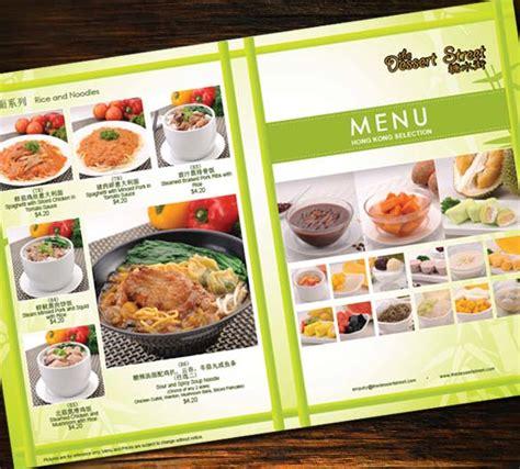 design dessert menu portfolio singapore f b design agency