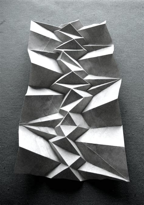 Architectural Paper Folding - best 25 origami architecture ideas on paper