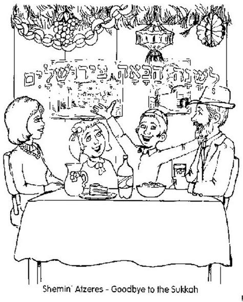 sukkot coloring pages sukkot free coloring pages for free