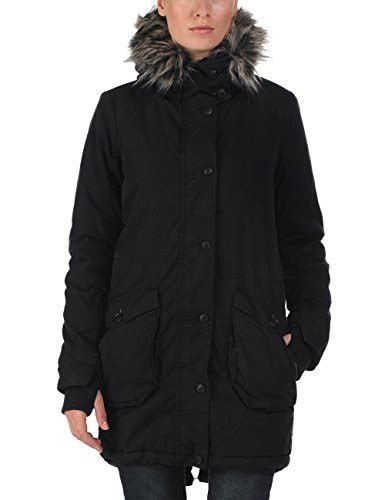 Wolfish Dress by Bench S Wolfish Ii Sleeve Coat Jet Black Size