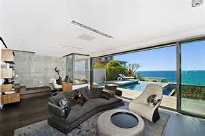 view interior of homes dream house in sydney with ocean views