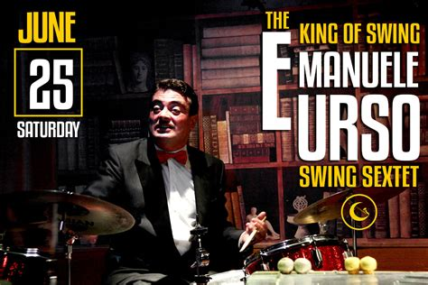 who was the king of swing emanuele urso gregory s jazz club locali a roma evento