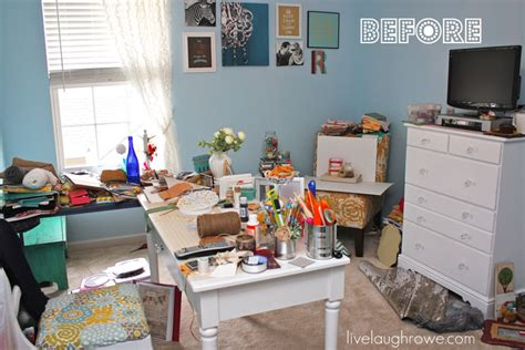 messy bedroom before and after messy craft room weekend project booo live laugh rowe