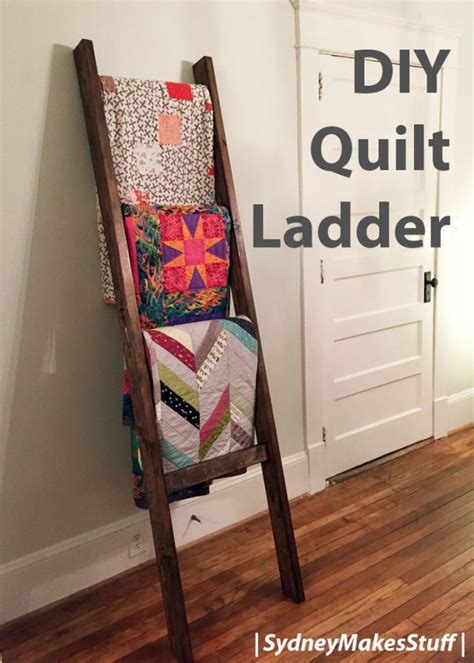 15 must see quilt ladder pins blanket rack blanket