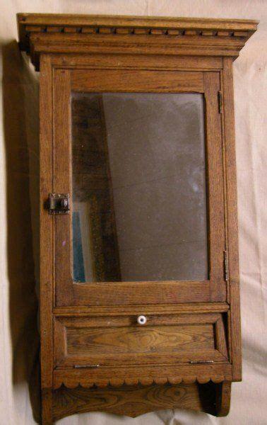 antique victorian medicine cabinet victorian