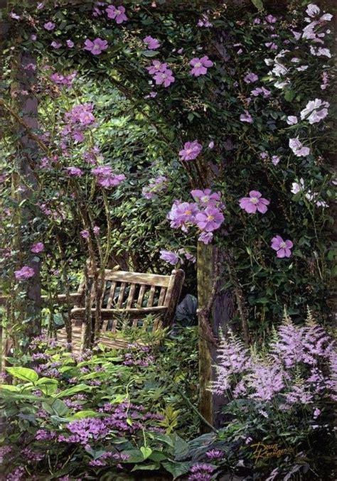 flowers garden secret gardens and gardens on