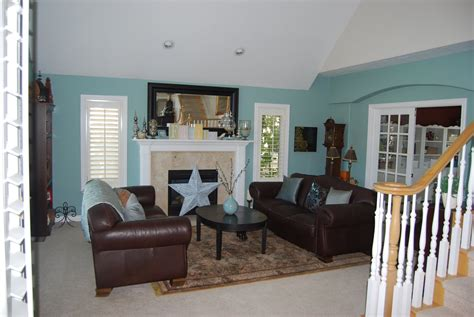 blue living room paint painting decorating my blog