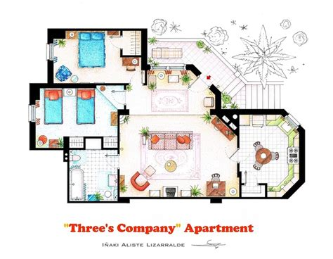 simpsons house floor plan the simpsons house floor plan print