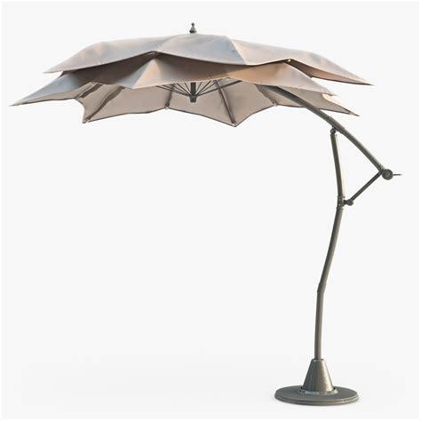 Modern Patio Umbrella Patio Umbrella Modern Outdoors 3d Model