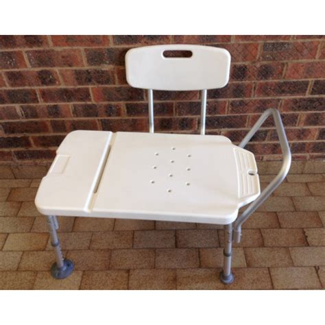 transfer bath bench with back bath transfer bench muw 170 kg back rest bariatric