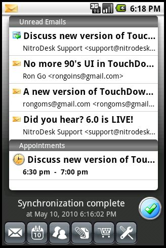 touchdown android the best alternative android apps to manage all your email tested