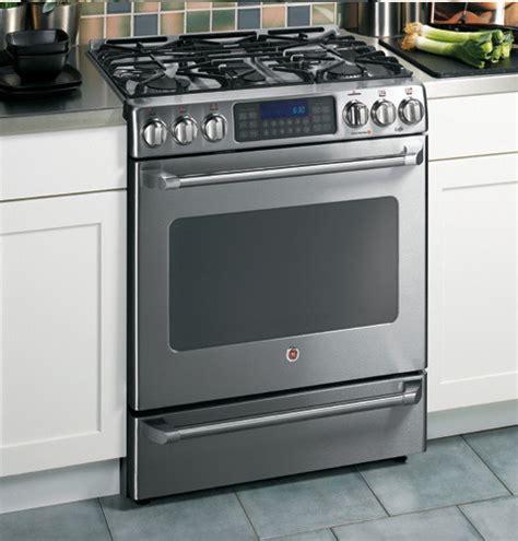 range kitchen appliances ge 30 inch cafe dual fuel freestanding convection self