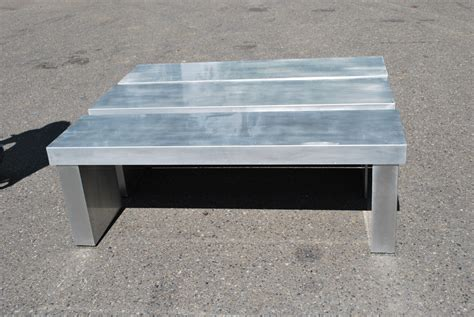 aluminium bench aluminum non warping patented honeycomb panels and door