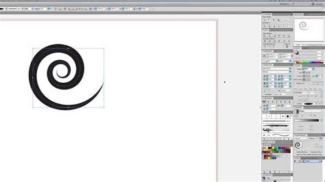 tutorial swirl illustrator quicker and easier swooshes and swirls in illustrator