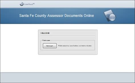 Santa Fe County Property Records Santa Fe County Assessor Tools Document Manager