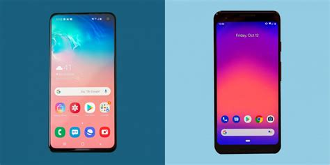 Pixel 3 Vs Samsung Galaxy S10e by Samsung Galaxy S10 Vs Pixel 3 Business Insider