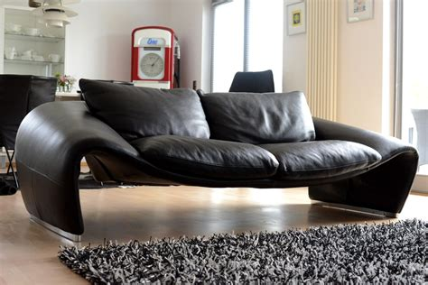 Chateau D Ax Leather by Pair Of Seagull Lounge Sofas By Sylvain Joly Room Of