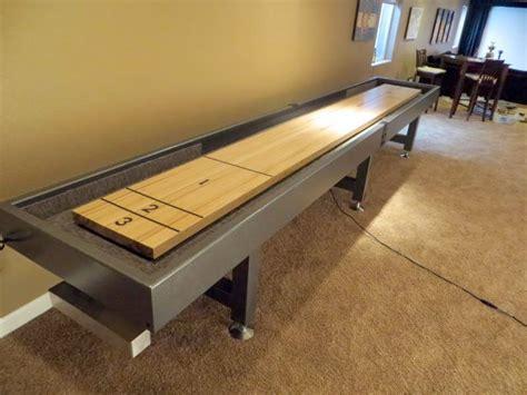 building a shuffleboard table home design