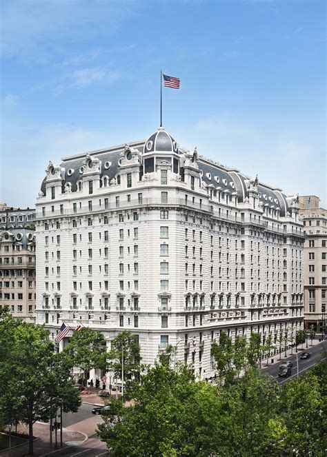 historic hotels in washington dc