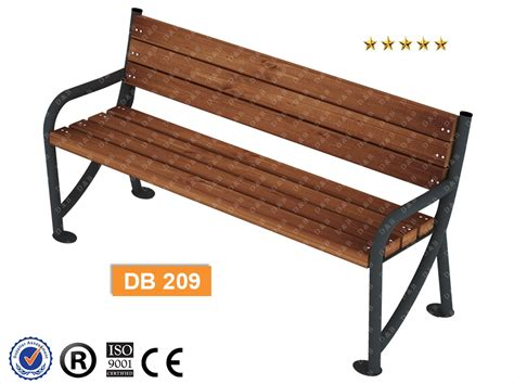 composite bench db 209 sitting benches outdoor trash can composite bench