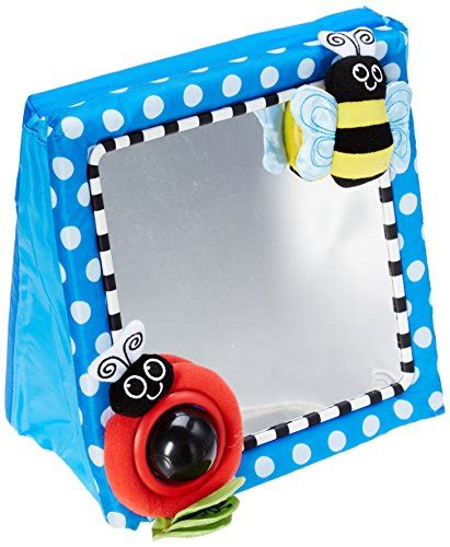 Sassy Floor Mirror by Sassy Floor Mirror Blue Top Bargain Toys Hobbies