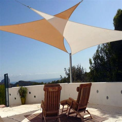 new sun shade sun sail cover canopy triangle square for