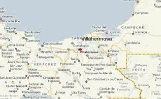 Villahermosa Mexico Map by Villahermosa Location Guide