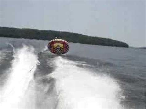 flying boat tube video kite tube disaster 55mph straight down youtube