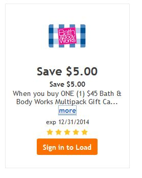 Kroger Gift Card Center - bath body works kroger gift card deal of the day bargains to bounty