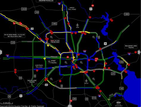 houston transtar map winter brings portions of the south to a halt weathernation