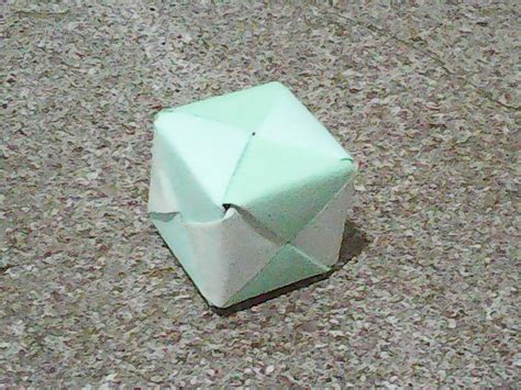 3d Origami Cube - origami 3d cube by aureliusorigami on deviantart