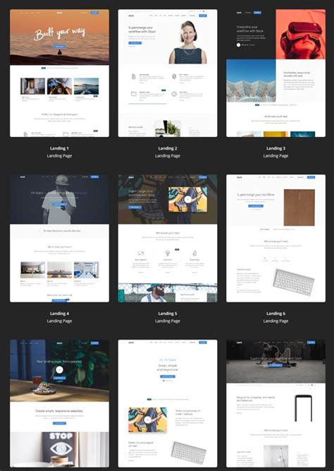 20 Best Premium Website Templates 2018 Freshdesignweb Best Site Templates