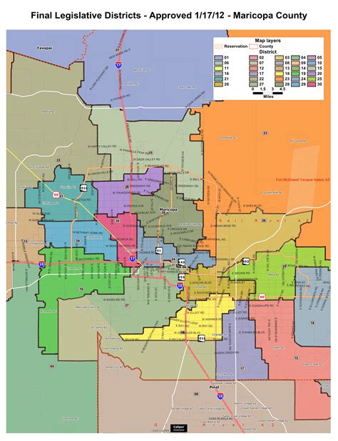 congressional districts map arizona voting districts map my
