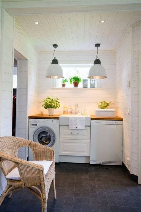 remodelaholic modern farmhouse laundry room inspiration
