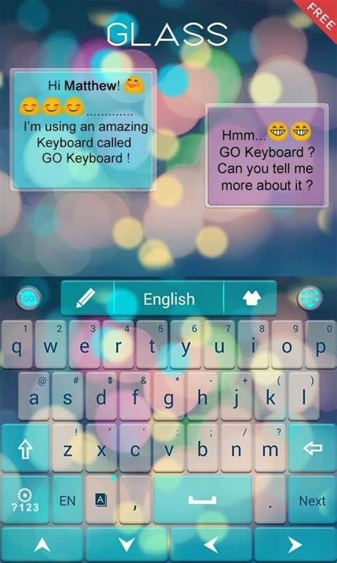 themes go keyboard free z glass go keyboard theme free android keyboard