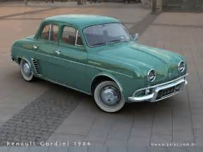 Renault 1960 Models 1961 Renault Gordini Information And Photos Momentcar