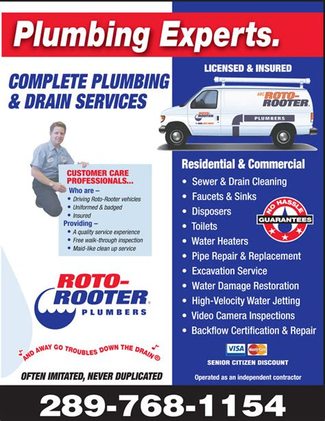 Roto Rooter Plumbing Drain Service by Roto Rooter Plumbing Drain Service Hamilton On 470b