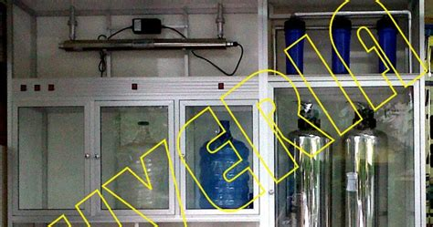 Pasang Mesin Air Isi Ulang mesin alat depot air minum isi ulang galon dijual mesin